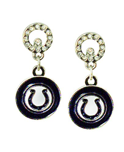 NFL Indianapolis Colts Circle Post Earrings