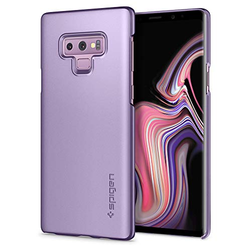 Spigen Thin Fit Galaxy Note 9 Case with Light but Durable Slim Profile with QNMP Metal Plate Slot for Samsung Galaxy Note 9 (2018) - Lavender