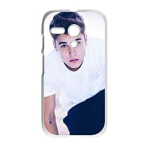 Motorola G Cell Phone Case White Justin Bieber VIU154371