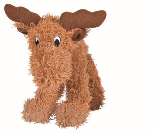 Trixie Elch Plüsch Spielzeug für Hunde, 15cm, 4Stück