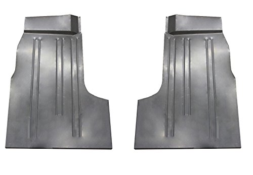 Motor City Sheet Metal - Works With 1957 1958 1959 1960 FORD PICKUP TRUCK FRONT FLOOR PANS F-100 F-250 SERIES PAIR