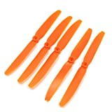 Dcolor 5 x EP-8040 2 Blade RC Airplane Propellers for 3mm Diameter Shaft Motor