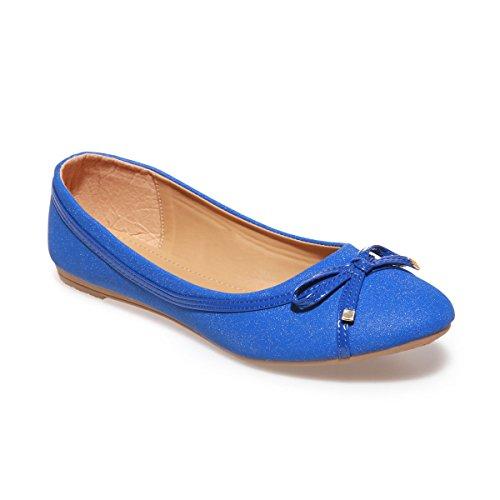 Modeuse La para Azul mujer Bailarinas 8dfUd