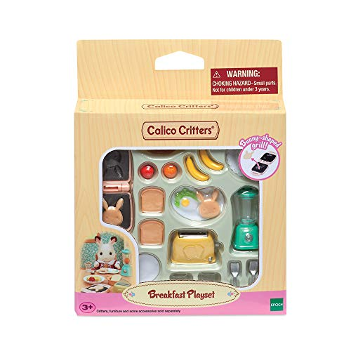 Calico Critters, Doll House Furniture and Décor, Breakfast Playset from Calico Critters