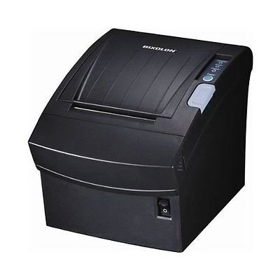 - BIXOLON, SRP-350PLUS, PRINTER, WLAN 802.11 BGN, USB, ETHERNET, BLACK, POWER SUPP