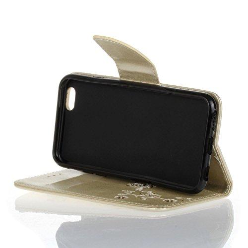 Für Apple iPhone 7 Plus (5,5 Zoll) Tasche ZeWoo® PU Ledertasche Hülle Leder Schutzhülle Case Cover - HX004 / Farbe