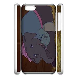 iphone6 4.7 3D Cell Phone Case Phone Case White Dumbo WQ5RT7496304