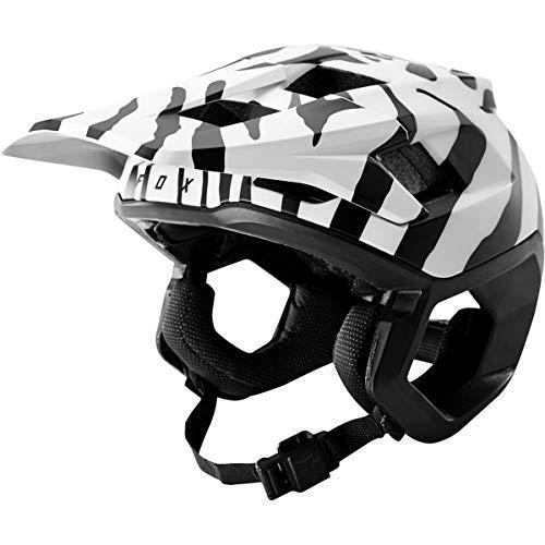 Fox Racing Dropframe Helmet - Limited Edition Zebra, L