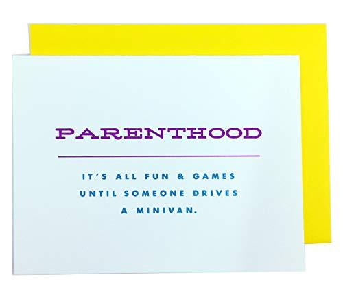PARENTHOOD - Funny Greeting -