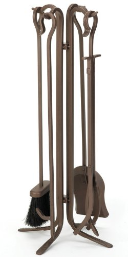 Woodfield 61226 4 Pieces Tool Set with Crook Handles in (Woodfield Fireplace Tools)