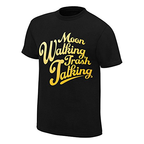 WWE Carmella Moon Walking Trash Talking T-Shirt Black XL by WWE Authentic Wear