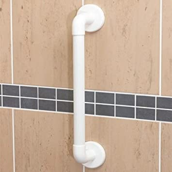 Beau Large Plastic Non Slip Hand Grip Bathroom Bath Shower Grab Rail Support  Handle