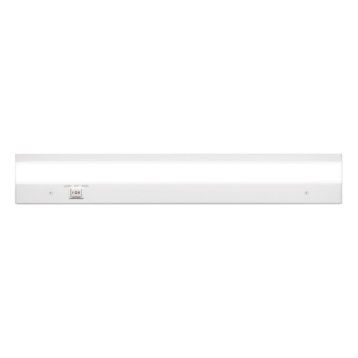 WAC Lighting BA-ACLED18-27/30WT Duo ACLED Dual Color Option Bar in White Finish; 2700K and 3000K, 18 Inches