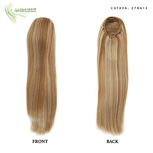 Synthetic Drawstring (Long Ponytail Extension Hairpiece Straight Hair 19
