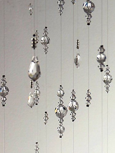 Extra Large Swarovski Crystal Chandelier Mobile Decoration Suncatcher in White by MobileSuncatchers