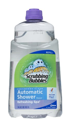 Scrubbing Bubbles Auto Shower Cleaner, Refreshing Spa Refills (Pack of 6), Health Care Stuffs