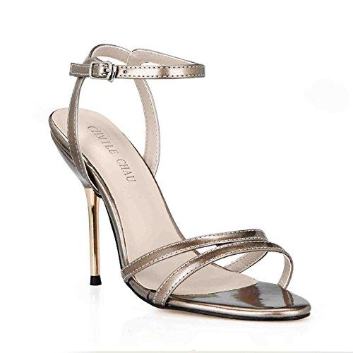 zapatos minimalista fueron cinturones de zapatos mujeres con Golden interesante sandalias verano Pearl Las de que nuevo banquetes hierro de y ZHZNVX sexy mujer lattice qRxwaAYUv
