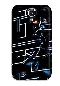 BcwBHWR2644CKpZc Faddish Beautiful New Age Tron Futuristic Case Cover For Galaxy S4