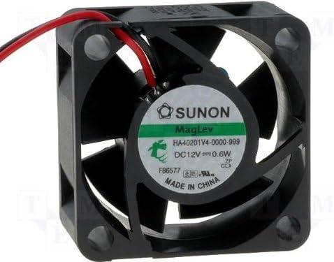 Sunon HA40201V4-999 - Ventilador (40 x 40 x 20 mm, 12 V, 4700 U/m ...