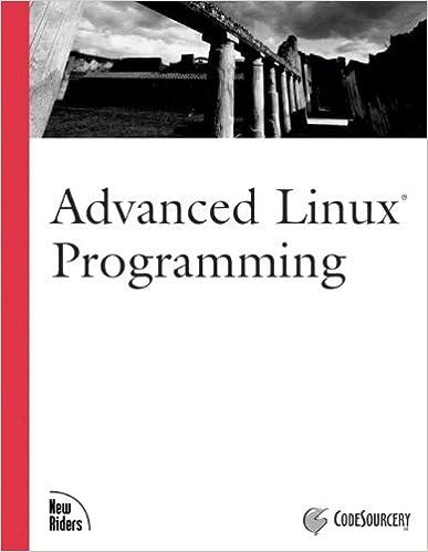 Amazon.com: Advanced Linux Programming eBook: LLC CodeSourcery, Mark L.  Mitchell, Alex Samuel, Jeffrey Oldham: Kindle Store