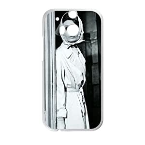 Audrey Hepburn HTC One M8 Cell Phone Case White yyfabc_159474