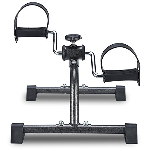 Todo Mini Exercise Bike Pedal Exerciser for Leg and Arm Rehab Work-out
