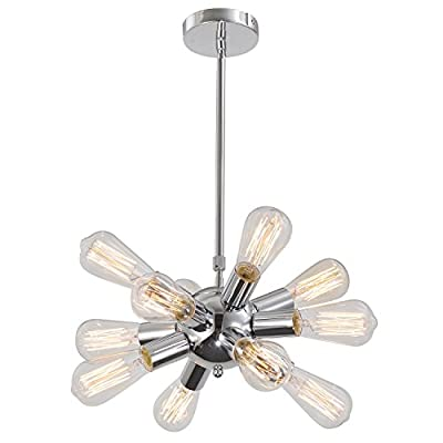 Unitary Brand Modern Metal Hanging Ceiling Chandelier With 12 Lights