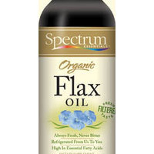 Spectrum Essentials Organic Flaxseed Oil, 16 Ounce - 3 per case. by Spectrum