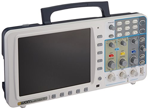 Owon SDS7102 Deep Memory Digital Storage Oscilloscope, 2-Channel with VGA and LAN Interface by OWON