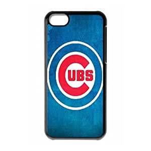 Chicago Cubs 002 iPhone 5c Cell Phone Case Black Protective Cover