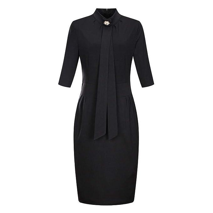 Amazon.com: Vestido de cóctel para mujer, estilo vintage, de ...