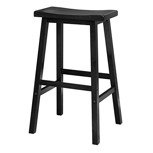 "Winsome 20089 Satori Stool, 29"", Black for sale  Delivered anywhere in USA"