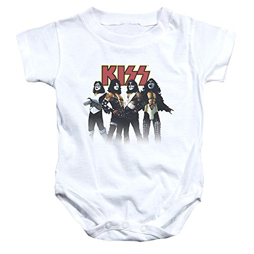 KISS - Throw Back Pose - One-Piece Infant Snapsuit - 24 - Shades Throwback