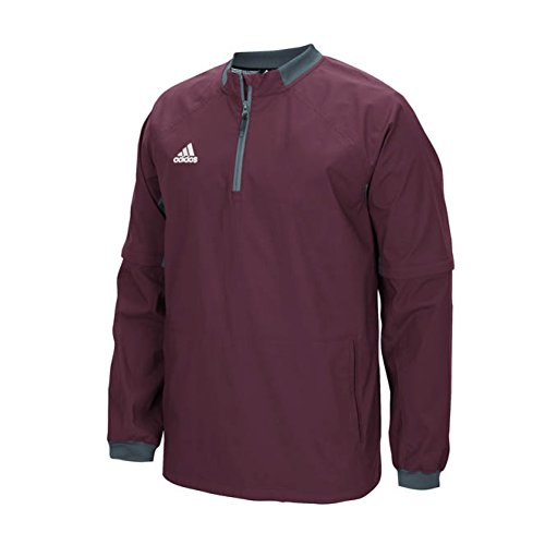 outlet big discount Inexpensive cheap price adidas Mens Fielder's Choice Convertible Jacket Maroon/Onix sale with credit card 2014 for sale b7ns1gx