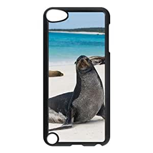 Sea lions New Printed Case for Ipod Touch 5, Unique Design Sea lions Case