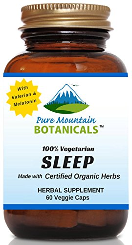 Organic Valerian Chamomile Skullcap Melatonin product image