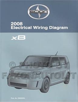 2008 scion xb wiring diagram manual original scion amazon com books rh amazon com 2008 scion xb wiring diagram 2008 scion xb headlight wiring diagram