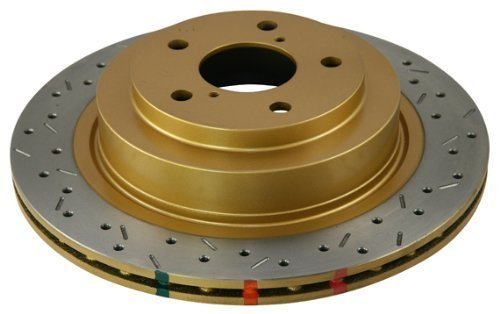 DBA (4654XS-10) 4000 Series Drilled and Slotted Disc Brake Rotor, Front