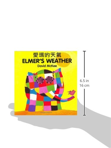 Elmer's Weather (English–Chinese) (Elmer series) by Milet Publishing (Image #1)