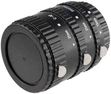 Khalia-Foto AF Autofokus Zwischenringe für Canon EOS Automatik-Ringe von Meike (MK-C-AF1-B)