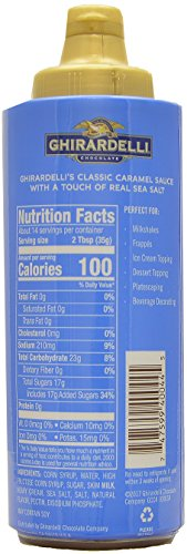 Ghirardelli - 16 Ounce Black Label, 16 Ounce Vanilla, 17 Ounce White, 17 Ounce Caramel, 17 Ounce Sea Salt Caramel Flavored Sauce (Set of 5) - with Limited Edition Measuring Spoon by Ghirardelli (Image #5)