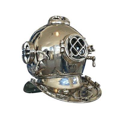 Chrome Mark V Diver's Helmet 18' - Divers Helmet - Nautical Decoration - Deep Seaおもちゃ[並行輸入品]   B00VQ9FFPE