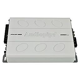 Audiopipe APMAR-4080 1200 Watt Mini-Design 4 Channel Mosfet Marine Amplifier