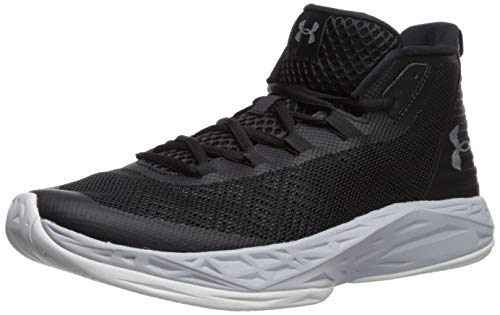 Sneakers Athletic Basketball - Under Armour Men's Jet Mid Basketball Shoe Black (003)/Mod Gray 8 M US