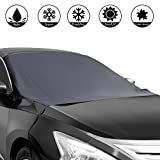 Shynerk Magnetic Edges Car Snow Cover, Frost Car Windshield Snow Cover, Frost Guard Protector, Ice Cover, Car Windsheild Sun Shade,...