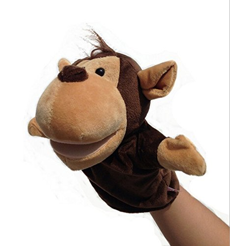 Attractive beauty Plush Velour Animal Hand Puppets