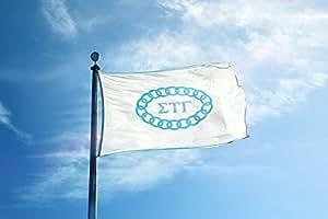 Sigma Tau Gamma con licencia de dormitorio sótano bandera Banner 2x 3pies