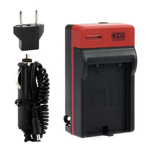 EZOPower EN-EL5 Travel Charger with Car/EU Adapter + USB Cable + Pouch Case for Nikon COOLPIX P520, P510, P500, P100, P90, P80, P6000, P5100, P5000 Digital Cameras