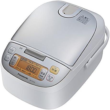 Panasonic IH Jar Rice Cooker 5 5 Go Champagne White SR HC105 W