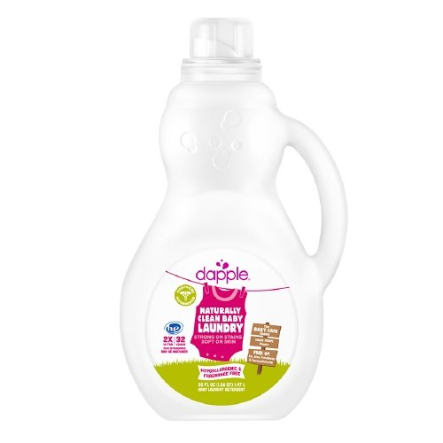 dapple Baby Laundry Detergent, 32 Loads, Fragrance Free 50 oz (1.47 L)